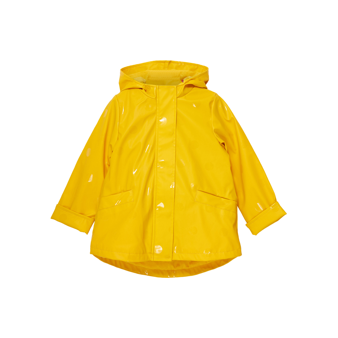 Jagraimper2 Girls Yellow 3 In 1 Hooded Raincoat