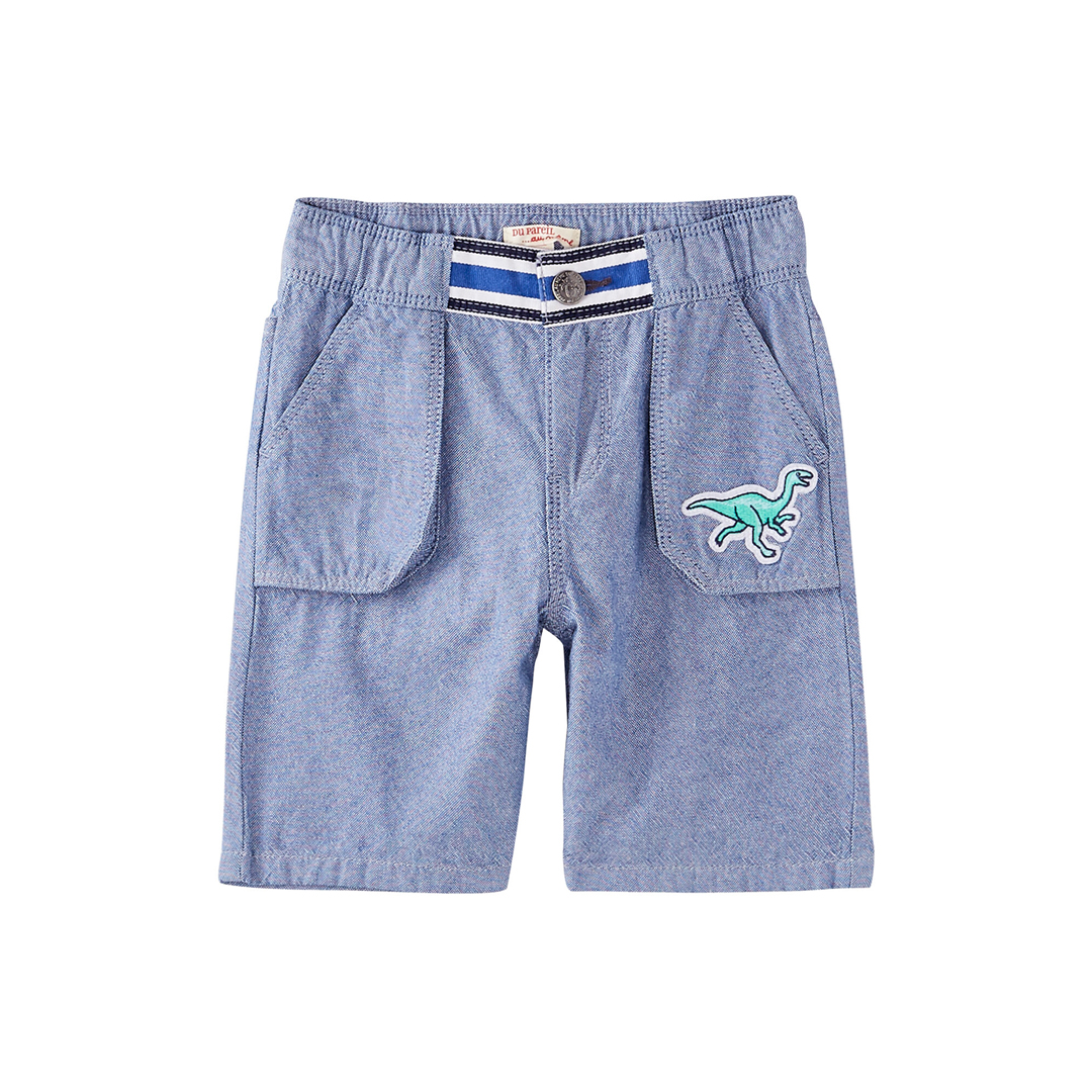 Joquaber2 Boys Blue Cotton Shorts