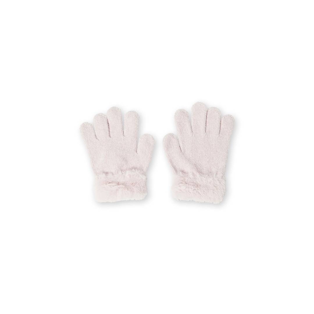 Kyabogan Girls Pale Pink Gloves